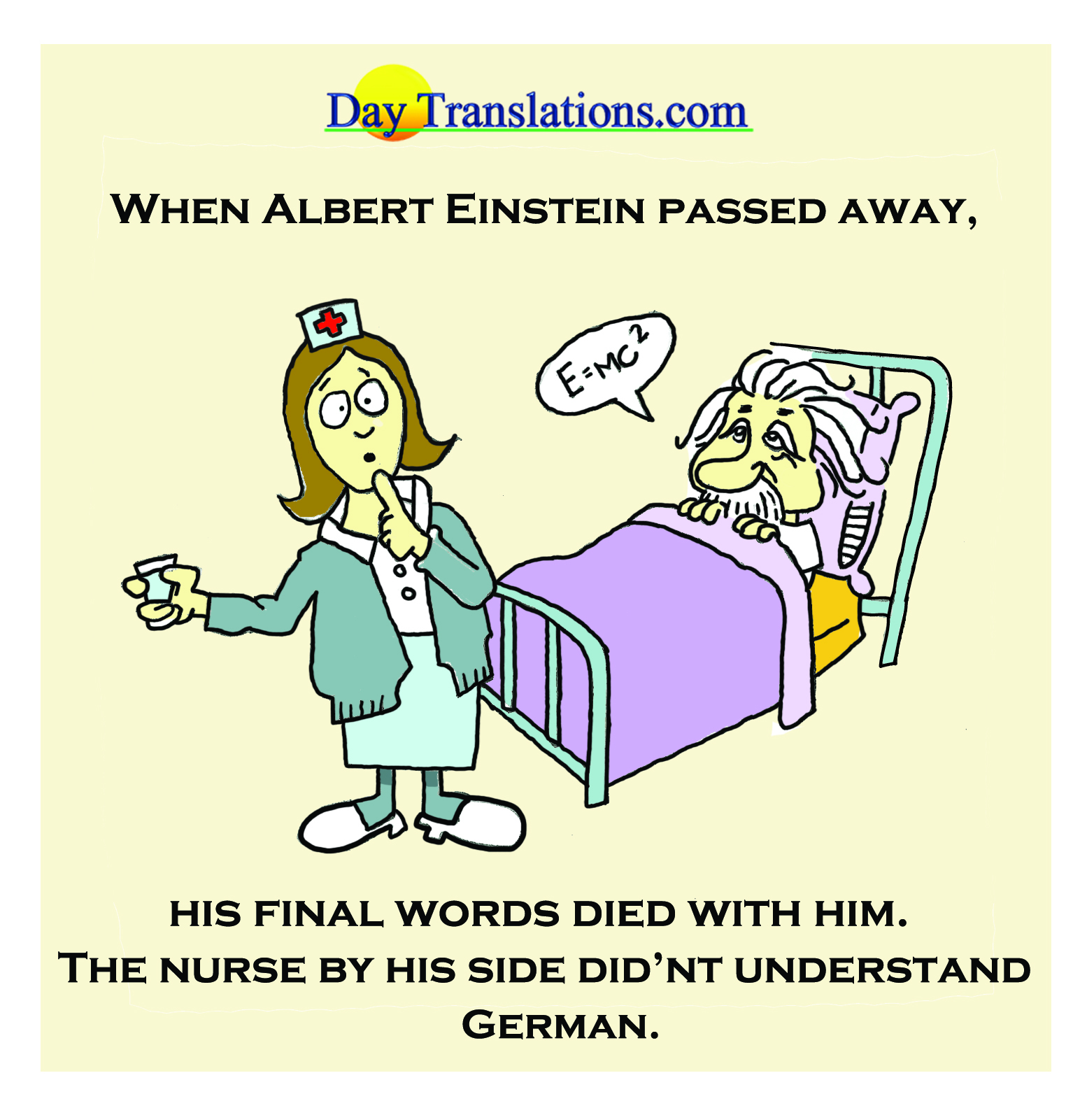 Day News - Einstein's Last Words