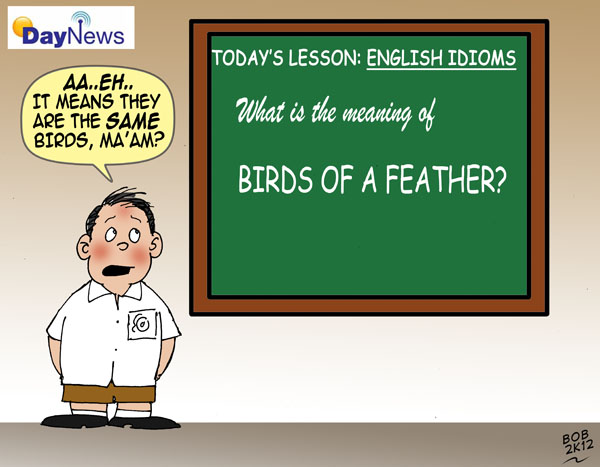 Birds of a Feather - Day News Cartoon Of The Day