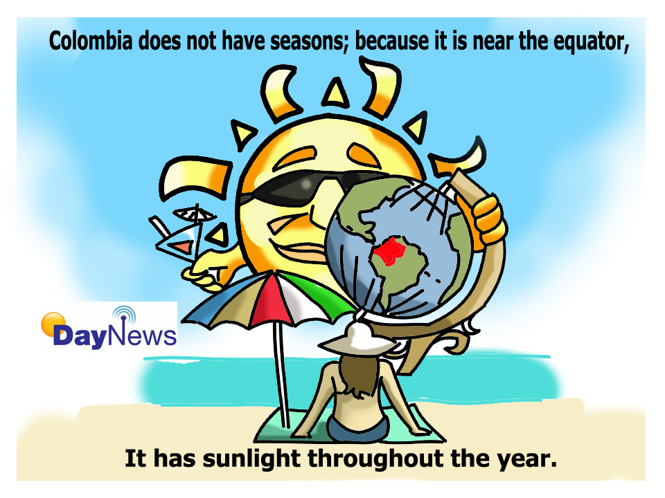 Colombian Sun - Day News Cartoon Of The Day