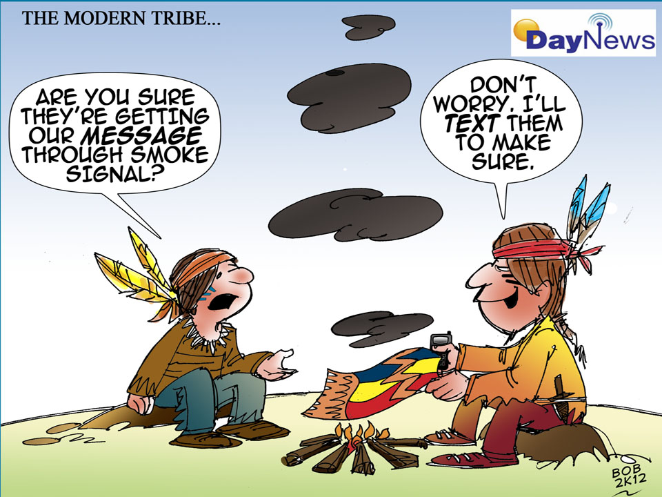 Modern Tribe - Day News Cartoon Of The Day