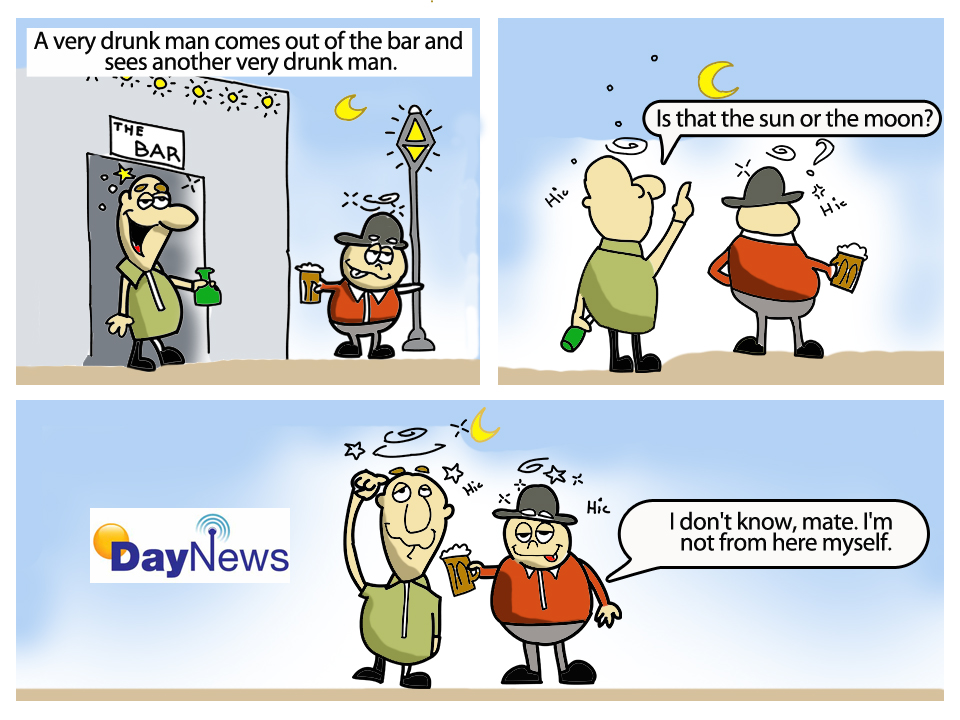 Not From Here - Day News Cartoon Of The Day