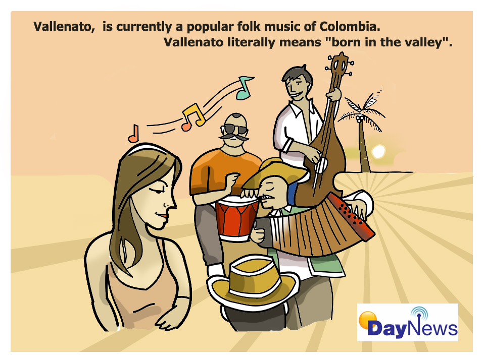 Vallenato - Day News Cartoon Of The Day
