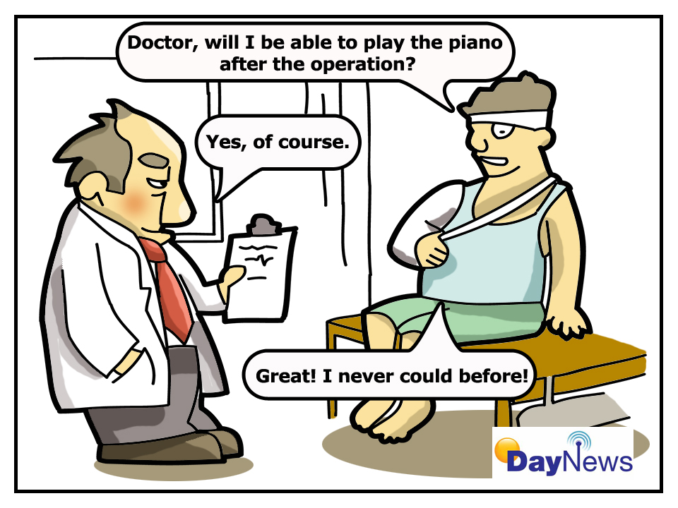 Piano Player - Day News Cartoon Of The Day