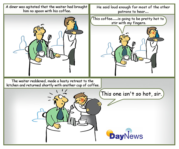 CoffeeWaiter600x500pxDayNewsCartoon