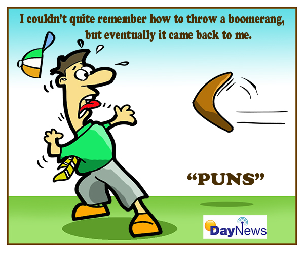 I couldn't quite remember how to throw a boomerang.....