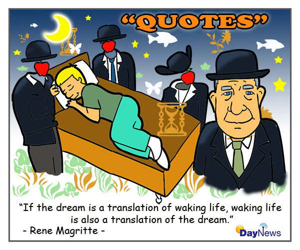 MagritteQuote600x500pxDayNewsCartoon