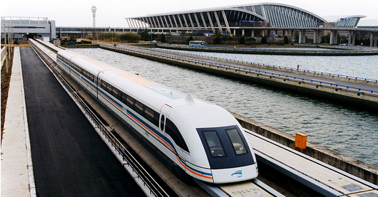 Super-Maglev Train