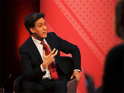 British Ed Miliband, the Labor Party leader