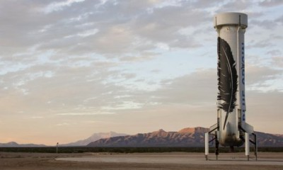 Blue Origin New Shepard Rocket
