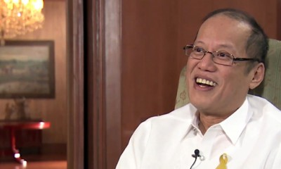 Philippine President Aquino During Interview