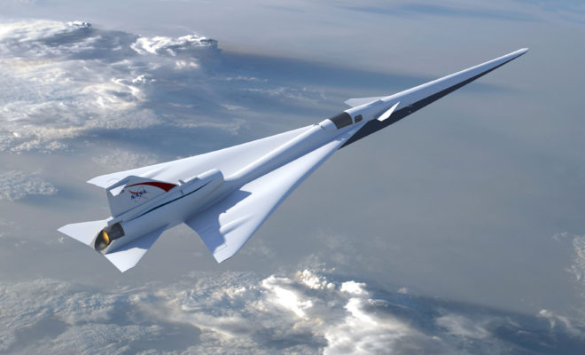 Supersonic Air Travel