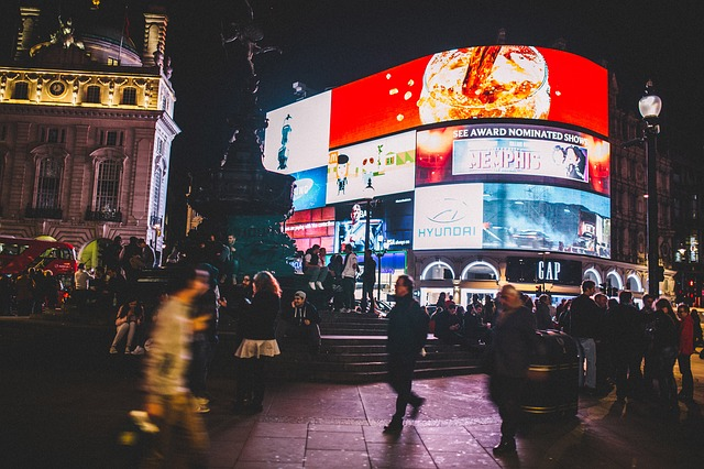 Piccadilly Mono-Screen Can Target You With Custom Ads